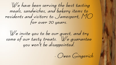Welcome to Gingerich Dutch Pantry